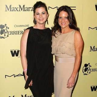 Mandy Teefey, Cathy Schulman in 5th Annual Women in Film Pre-Oscar Cocktail Party