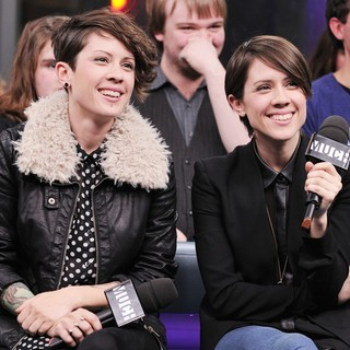 Tegan and Sara Interview on Much Music's NEW.MUSIC.LIVE. Promoting Their Album Heartthrob - tegan-and-sara-interview-on-much-music-s-new-music-live-04