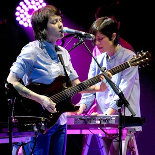 Tegan and Sara in Tegan and Sara Performing Live
