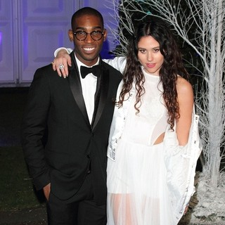 Tinie Tempah, Eliza Doolittle in Winter Whites Gala Dinner - Arrivals