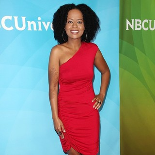 Tempestt Bledsoe in NBC Universal Press Tour