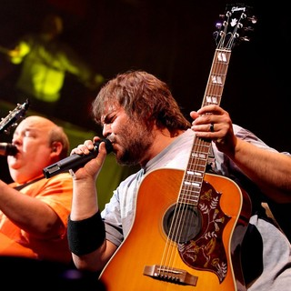 Kyle Gass, Jack Black, Tenacious D in Tenacious D Perform Live at The House of Blues