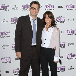Jon Tenney, Leslie Urdang in 27th Annual Independent Spirit Awards - Arrivals