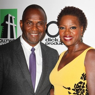 Julius Tennon, Viola Davis in The 17th Annual Hollywood Film Awards