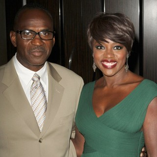 Julius Tennon, Viola Davis in The 23rd Annual Producers Guild Awards - Arrivals