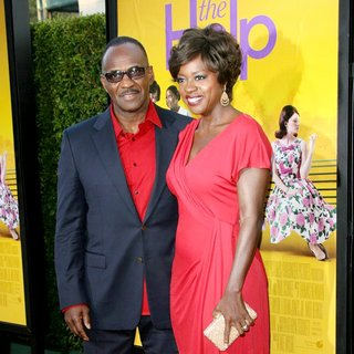 Julius Tennon, Viola Davis in World Premiere of The Help