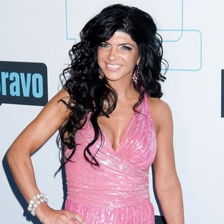 Teresa Giudice in Bravo Media's 2011 Upfront Presentation - Arrivals