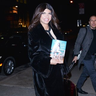 Teresa Giudice Entering WWHL