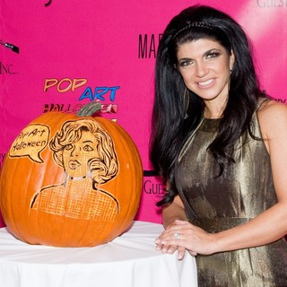 Teresa Giudice - Pop Art Halloween Presented by Morgan Fairchild and Marc Bouwer