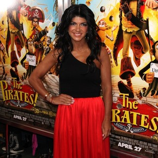 Teresa Giudice in The Pirates! Band of Misfits Special Screening
