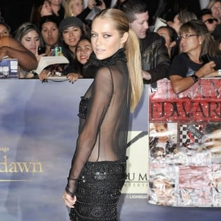 Teresa Palmer in The Premiere of The Twilight Saga's Breaking Dawn Part II