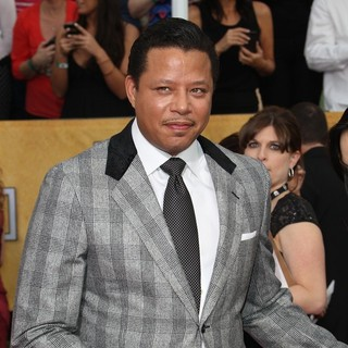 Terrence Howard in The 20th Annual Screen Actors Guild Awards - Arrivals
