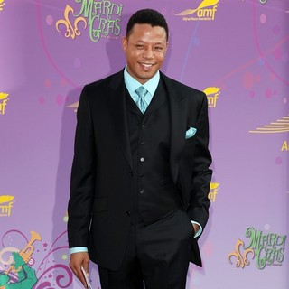 Terrence Howard in The Alfred Mann Foundation's Annual Black-Tie Gala