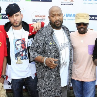 Bun B in Hip-Hop Summit: Get Your Money Right! - terrence-j-dj-drama-bun-b-hamilton-zoe-get-your-money-right-01
