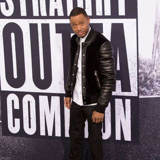Terrence J in World Premiere of Universal Pictures' Straight Outta Compton - Arrivals