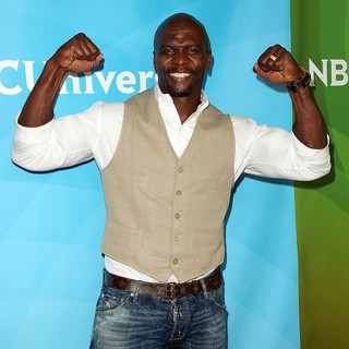 Terry Crews in NBC Universal Press Tour