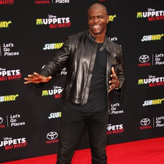 Los Angeles Premiere of Disney's Muppets Most Wanted - Red Carpet Arrivals - terry-crews-premiere-muppets-most-wanted-01