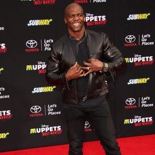 Terry Crews in Los Angeles Premiere of Disney's Muppets Most Wanted - Red Carpet Arrivals