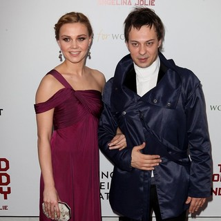 Alma Tervic, Goran Jevtic in Premiere of In the Land of Blood and Honey - Arrivals