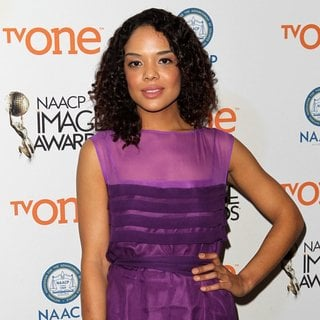 Tessa Thompson in 46th NAACP Image Awards - Nomination Announcement and Press Conference