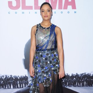 Tessa Thompson in New York Premiere of Selma - Red Carpet Arrivals