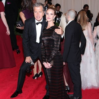 Mario Testino, Rosie Huntington-Whiteley in Schiaparelli and Prada Impossible Conversations Costume Institute Gala