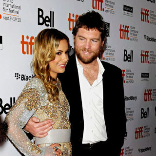 Sam Worthington, Natalie Mark in The 35th Toronto International Film Festival - 'Last Night' Premiere