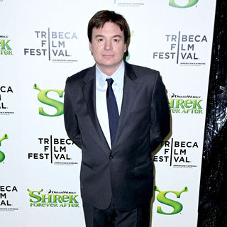 Mike Myers in Premiere of 'Shrek Forever After' during the 9th Annual Tribeca Film Festival - Arrivals - tff_shrek_forever_after_04_wenn5464446