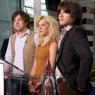 The Band Perry in Good Morning America to Announce The Nominees for The 2011 CMA Awards