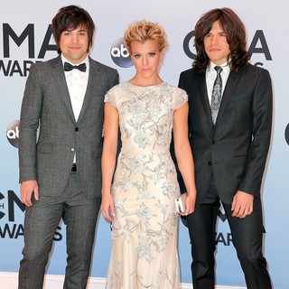 The Band Perry in 47th Annual CMA Awards - Red Carpet