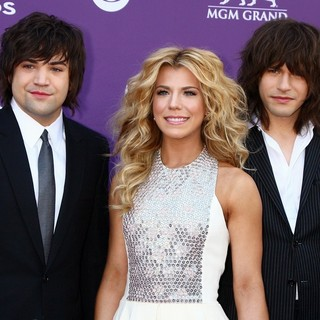 The Band Perry in 48th Annual ACM Awards - Arrivals