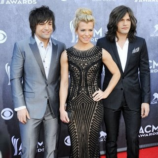 The Band Perry in 49th Annual Academy of Country Music Awards - Arrivals