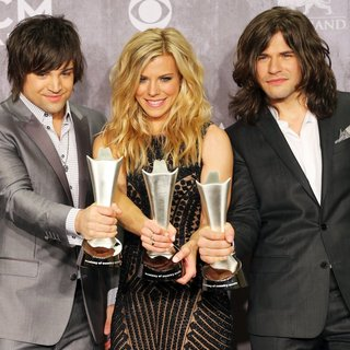 The Band Perry in 49th Annual Academy of Country Music Awards - Press Room
