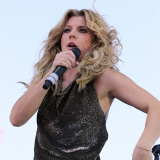 Kimberly Perry, The Band Perry in iHeartRadio Music Festival Village