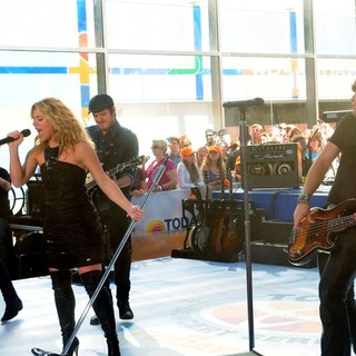 The Band Perry in The Band Perry Performs at NBC's Today Show