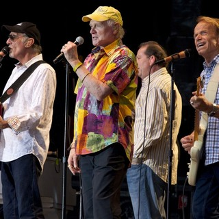 David Marks, Mike Love, Al Jardine, The Beach Boys in The Beach Boys Performing Live on Their 50th Anniversary Tour