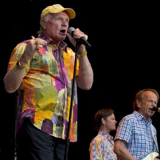 Brian Wilson, David Marks, Mike Love, The Beach Boys in The Beach Boys Performing Live on Their 50th Anniversary Tour