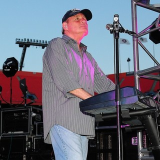 Bruce Johnston, The Beach Boys in John Stamos Performs Live with The Beach Boys at Marlins Super Saturday Concert