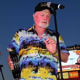 Mike Love, The Beach Boys in John Stamos Performs Live with The Beach Boys at Marlins Super Saturday Concert