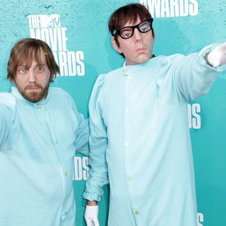The Black Keys in 2012 MTV Movie Awards - Arrivals