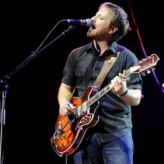 Dan Auerbach, The Black Keys in The Black Keys Performs on Stage