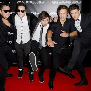 The Collective in G.I. Joe: Retaliation - Sydney Premiere