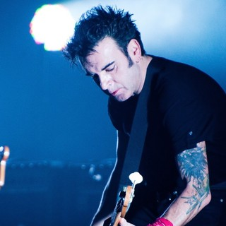 Simon Gallup, The Cure in The Cure perform live at Beacon Theatre