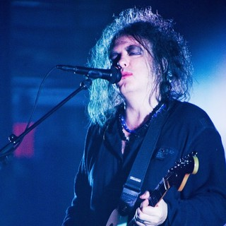 Robert Smith, The Cure in The Cure perform live at Beacon Theatre