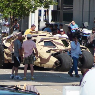 The Dark Knight Rises Filming