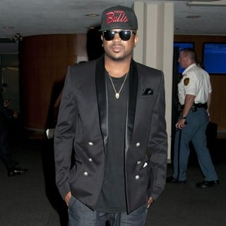 The-Dream in Celebrities Arrive at The United Nations General Assembly Hall