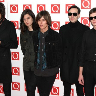 The Horrors in The Q Awards 2011 - Arrivals - the-horrors-q-awards-2011-01