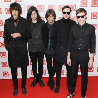 The Horrors in The Q Awards 2011 - Arrivals