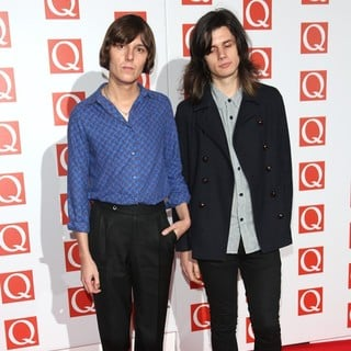 Tomethy Furse, Joshua Hayward, The Horrors in The Q Awards 2012 - Arrivals