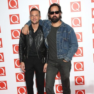 Brandon Flowers in The Q Awards 2012 - Arrivals - the-killers-q-awards-2012-01